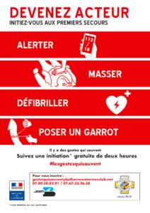 Formation secourisme - Gestes qui sauvent Saint-Jean-de-Luz   2020-02-07
