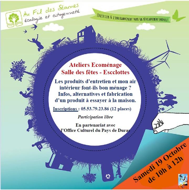 Ateliers Ecocitoyens « Mes cosmétiques au naturel » Esclottes   2020-03-11
