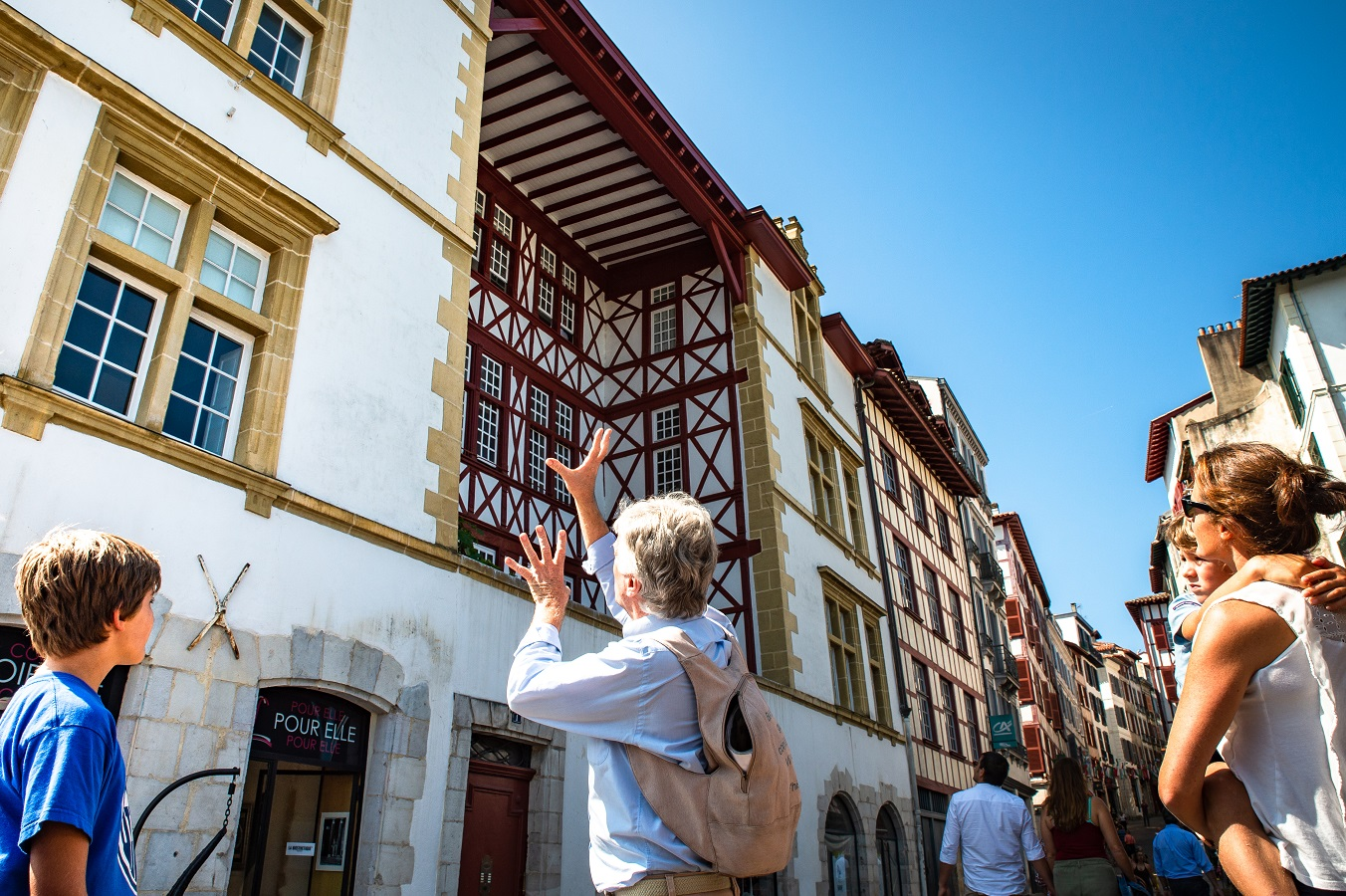 Visite guidée: Baiona 60 minutuz berria Bayonne   2021-06-19