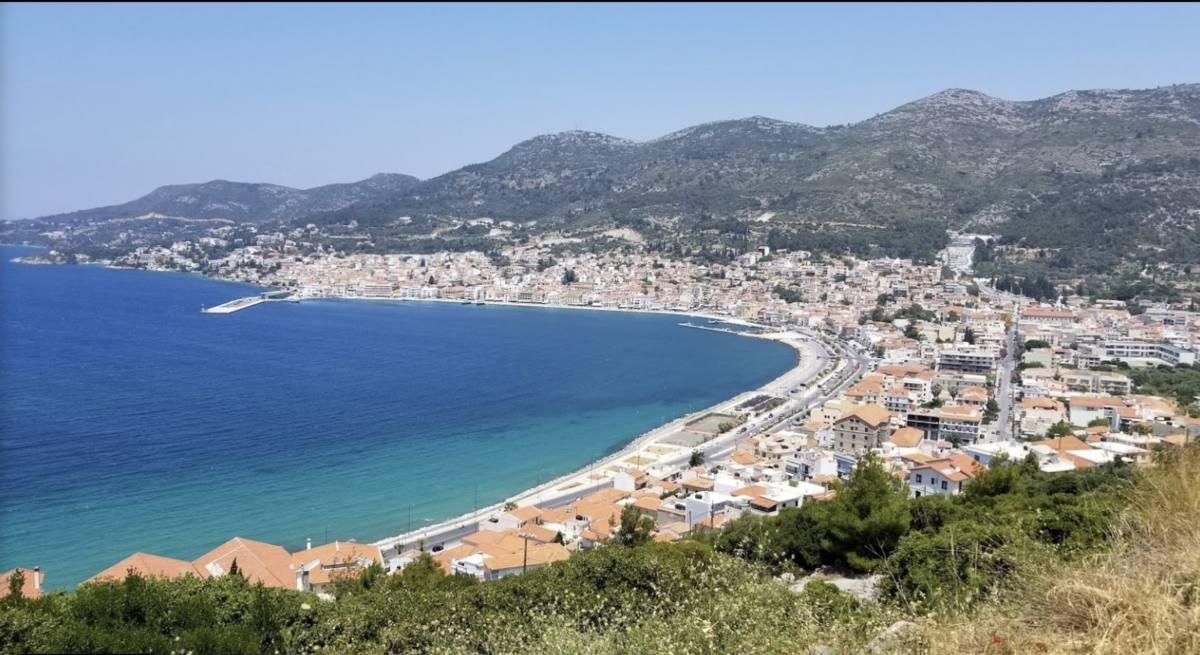 ile samos island greece grece