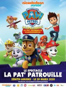 Spectacle : Pat' Patrouille AMIENS 2020-03-29