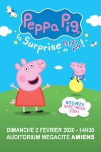 Spectacle : Peppa Pig AMIENS 2020-02-02