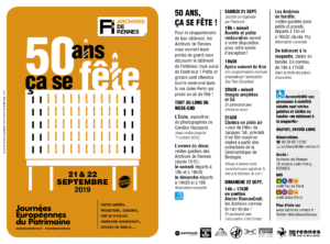 Programme 50 ans Archives