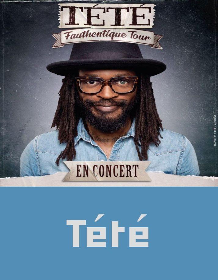 Concert Tété ( Pop-rock Folk ) NANTEUIL LE HAUDOUIN 2020-02-01