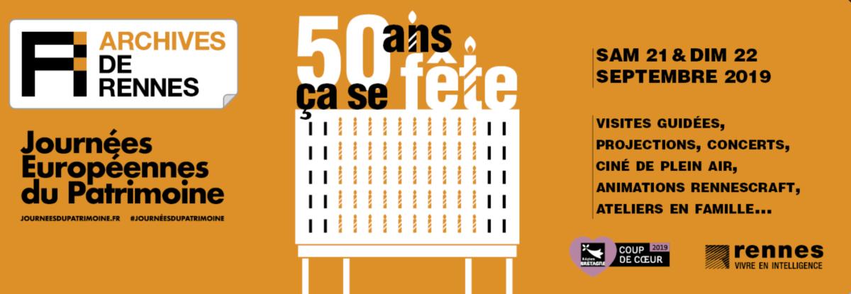 RENNES. CLAIRE GATTI OUVRE LES PORTES DES ARCHIVES DE RENNES POUR LES 50 ANS DU BATIMENT