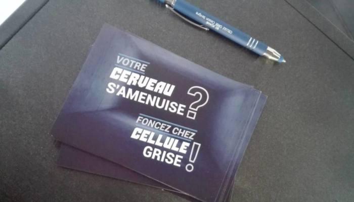 CELLULE GRISE CESSON ESCAPE GAME