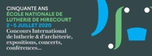 LES 50 ANS DE L'ÉCOLE NATIONALE DE LUTHERIE + 1 Mirecourt   2021-07-02