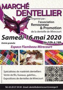 MARCHÉ DENTELLIER Mirecourt   2021-05-15