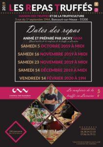 REPAS TRUFFÉS Boncourt-sur-Meuse Meuse  2020-02-14