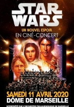 STAR WARS in concert MARSEILLE 2020-04-11