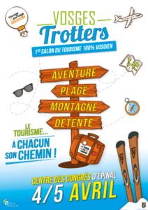 VOSGES TROTTERS 1ER SALON DU TOURISME VOSGIEN - ANNULÉ Épinal 2020-04-04