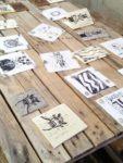 Atelier gravure à la Pepiterre SARZEAU 2020-02-28