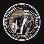 Concert Little Tom (Mississipi blues) au Petit Café dans la Prairie Theix-Noyalo   2020-01-31