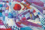 Exposition Emmanuelle Brett Peinture et gravure Sarzeau 2020-03-31