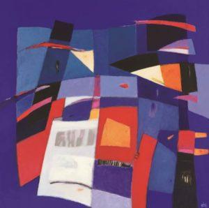Exposition Jean-François Chaussepied (Peintre) au Moulin de Pen Castel ARZON 2020-03-01