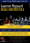 Laurent Mignard Duke Orchestra au Jazz Café Montparnasse Jazz Café Montparnasse 2020-01-23T21:00:00+01:00