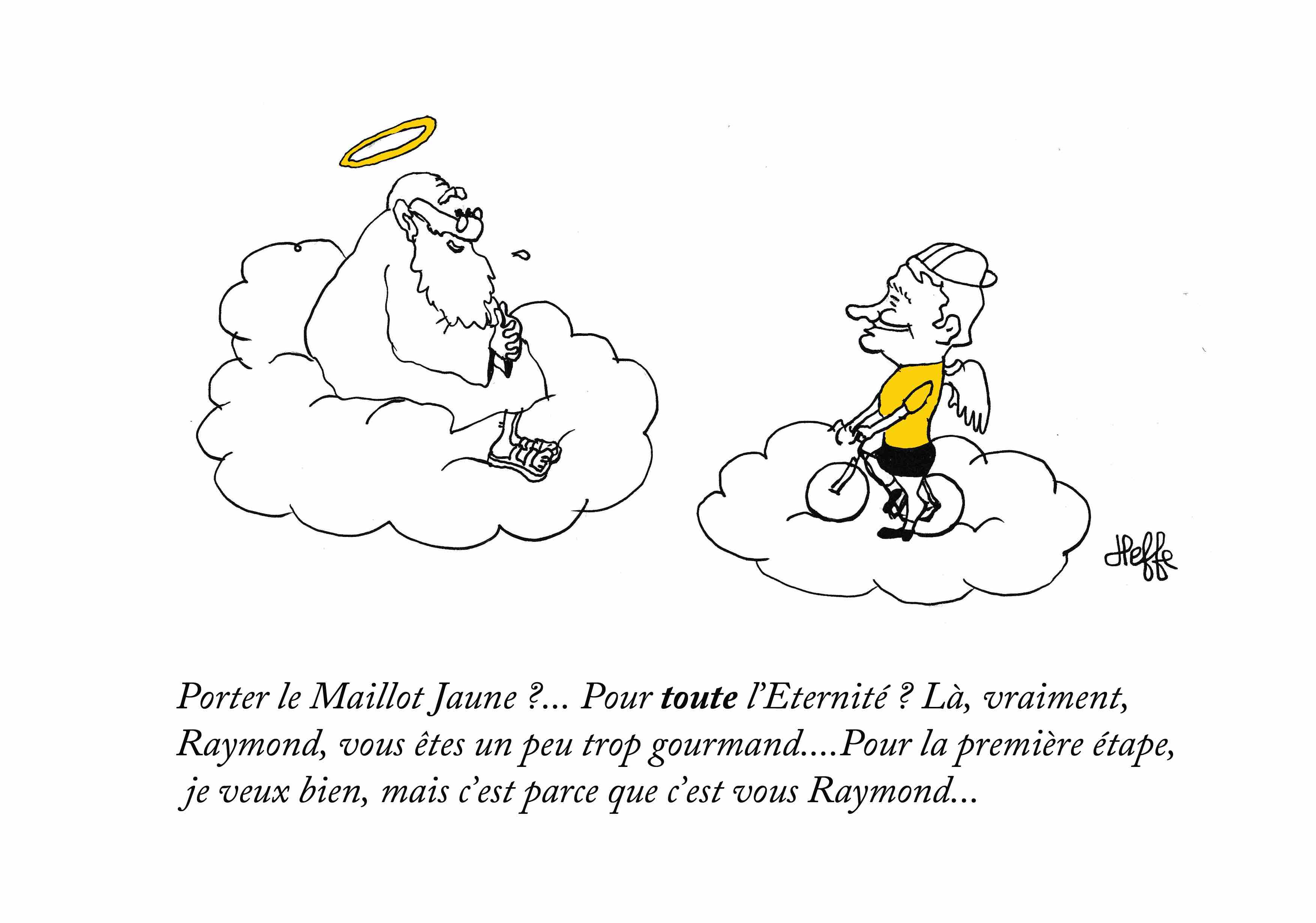 MORT DE RAYMOND POULIDOR : LE MAILLOT JAUNE AU PARADIS