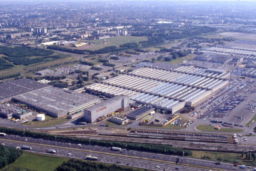 Site PSA Aulnay-sous-bois