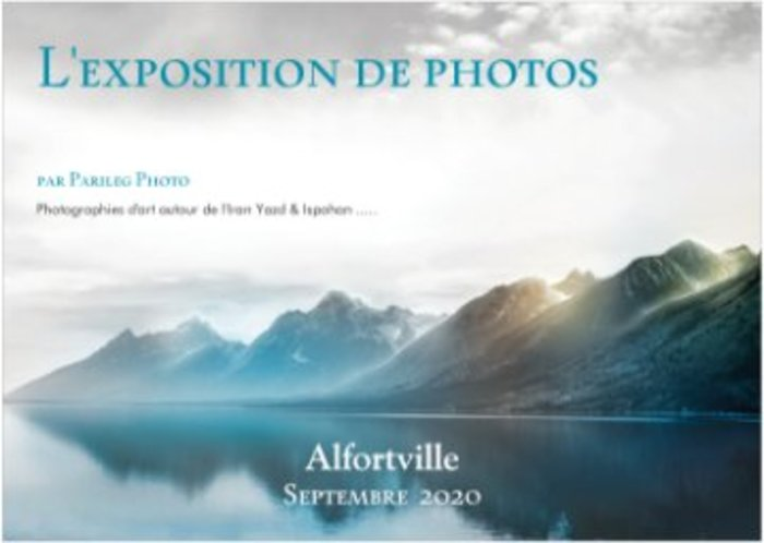 L'exposition de Photos par Parileg Photo & Dj Mixify ZA Les Jardins d'Alfortville Alfortville