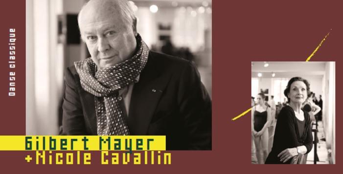 Stage de danse classique / Gilbert mayer et Nicole Cavallin centre culturel chateau palmer Cenon