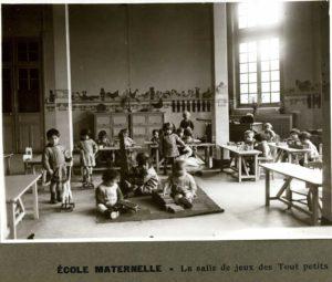 Écoles et mouvement moderne. Archives de Paris - Salle Paul Verlaine