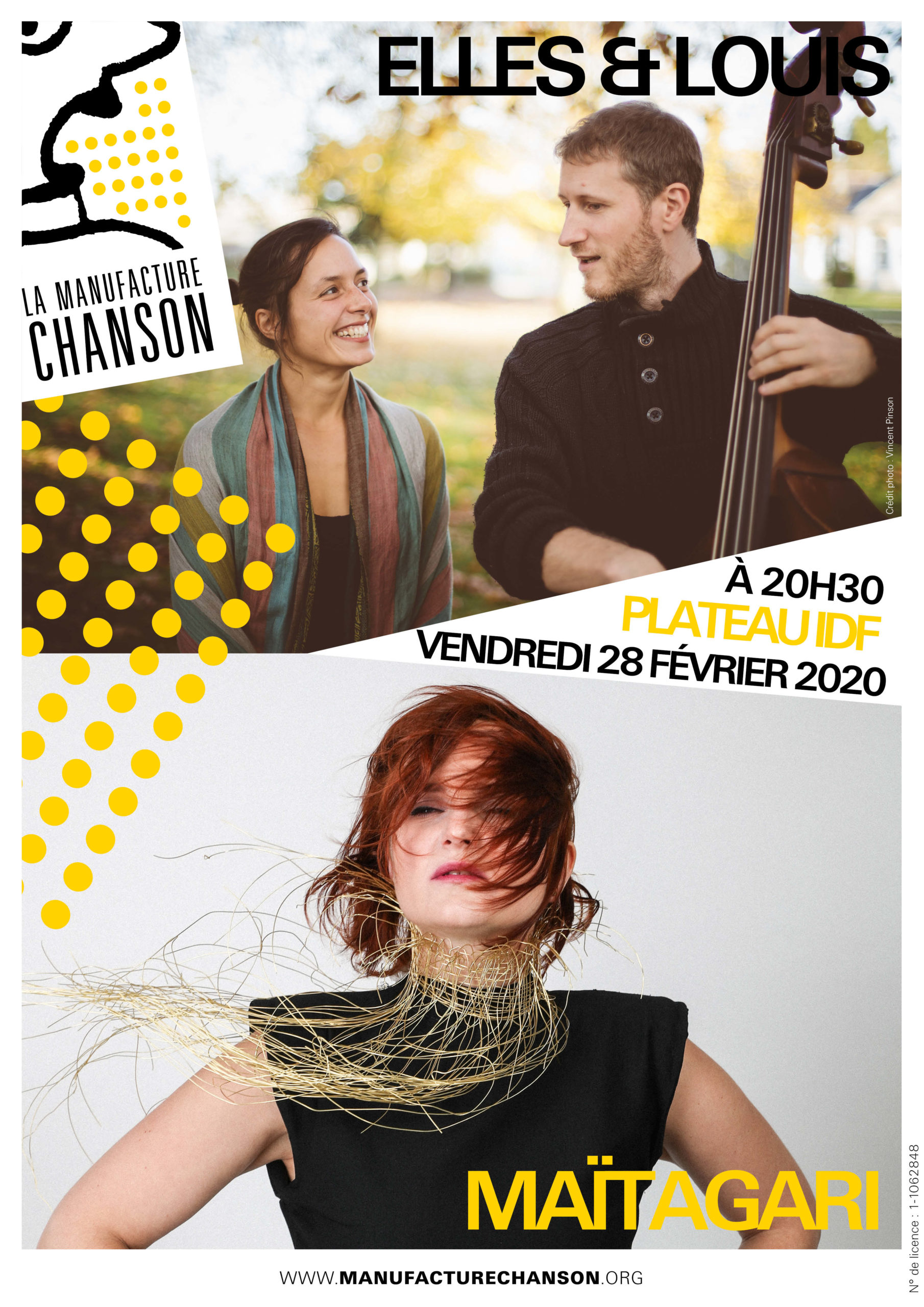 ELLES & LOUIS + MAÏTAGARI LA MANUFACTURE CHANSON