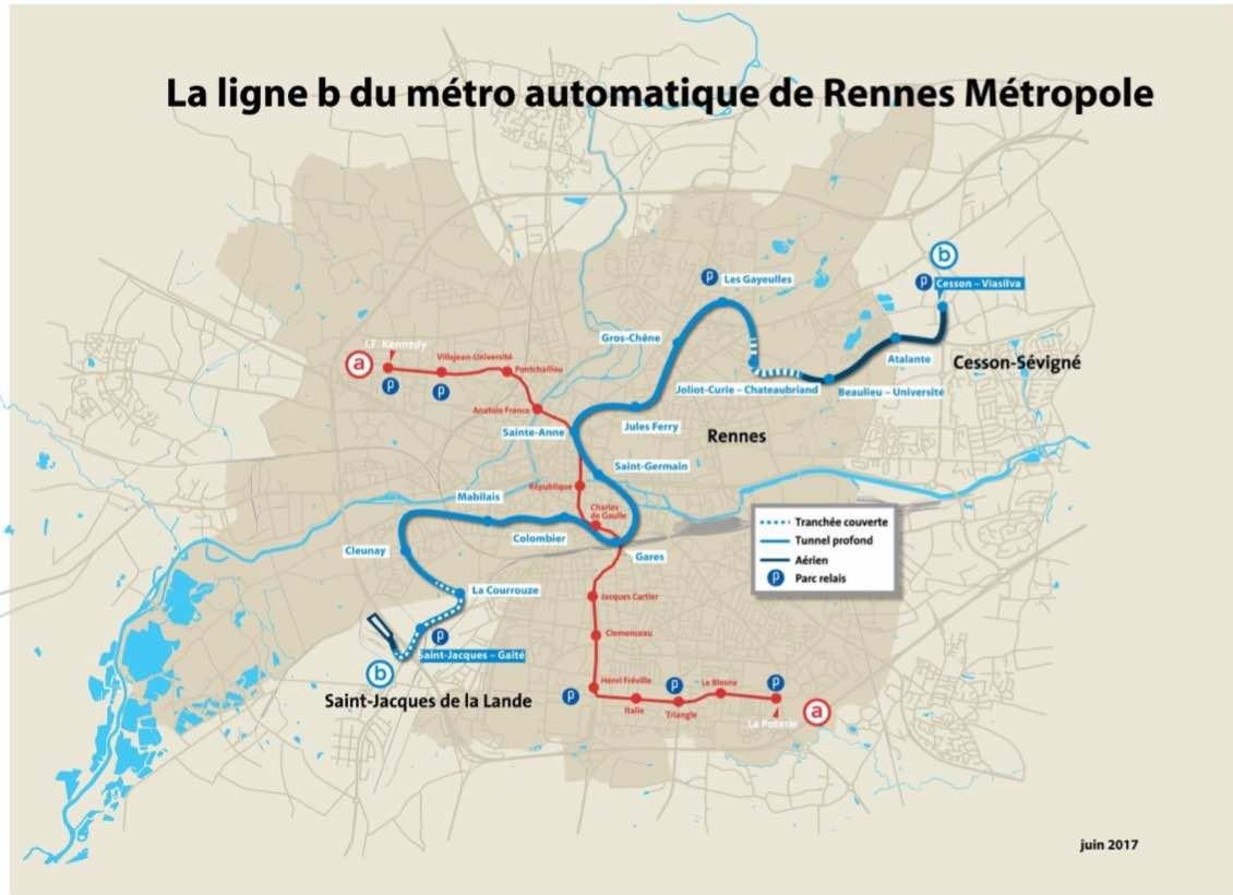 ligne b metro