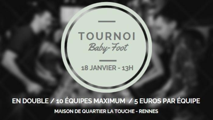 Tournoi de Baby-Foot Maison de Quartier La Touche Rennes