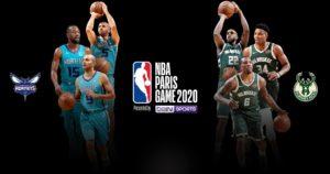 NBA PARIS GAME 2020 AccorHotels Arena Paris Bercy