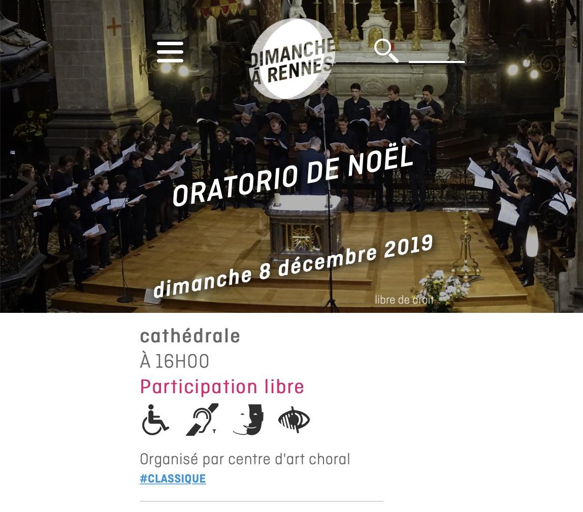 rennes oratorio noel