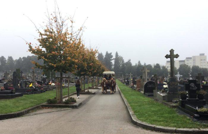 Calèche cimetière Rennes