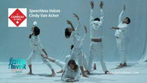 Speechless Voices - Cindy Van Acker Le Carreau du Temple