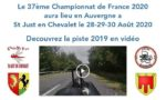 37ème Championnat de France 2020 St Just en Chevalet (42)