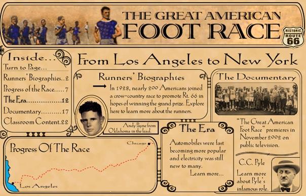 AMERICAN FOOTRACE