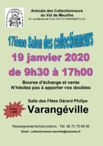 17IÈME SALON MULTICOLLECTIONS Varangéville   2020-01-19