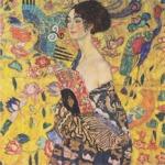 La Dame à l'éventail, Gustav Klimt, 1917-1918.
