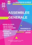 ASSEMBLÉE GÉNÉRALE Le Val-d'Ajol   2020-01-31