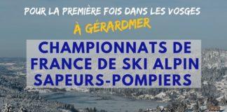 CHAMPIONNAT DE FRANCE DE SKI ALPIN DES SAPEURS POMPIERS Gérardmer   2020-03-07