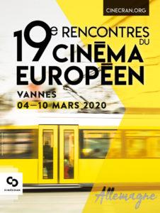 19e Rencontres du Cinéma Européen Cinéville Garenne Vannes