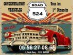 Concentration tous véhicules - Road 524 Mazères