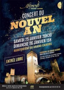 Concert du Nouvel An par l'Harmonie du Grand Cahors Cahors