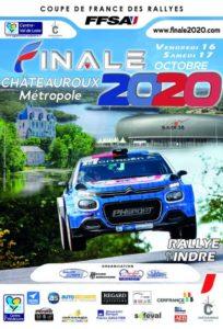 Coupe de France des Rallyes 2020-10-16 Châteauroux