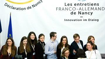 ENTRETIENS FRANCO-ALLEMANDS DE NANCY Nancy   2020-02-13