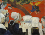 Vision après le sermon, Paul Gauguin, 1888.