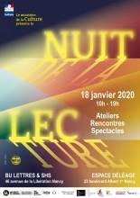 LA NUIT DE LA LECTURE 2020 Nancy   2020-01-18