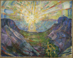 Le Soleil, Edvard Munch, 1910-1913.