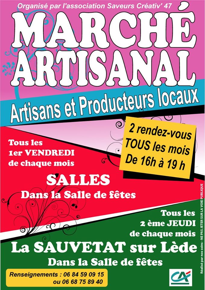 Marché artisanal Salles