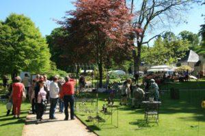 Marché aux plantes et produits du terroir au Jardin du Plessis Sasnières Sasnières   2020-05-09