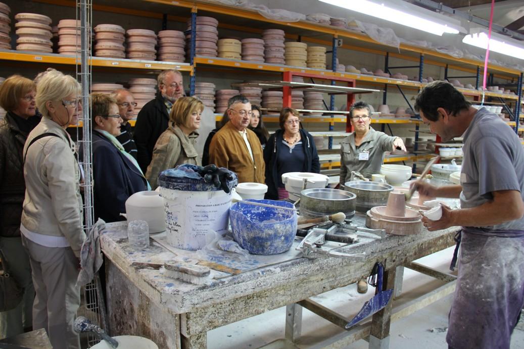 Visite guidée de la manufacture de Porcelaine Mehun-sur-Yèvre