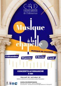 Musique à la Chapelle - Esprit français 2020-04-05 Châteauroux